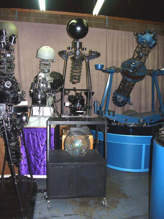 Planetarium Projector Museum by Owen Phairis